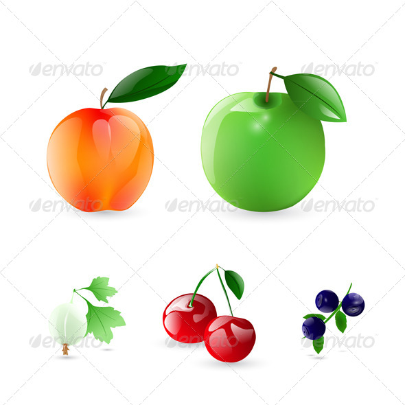 GraphicRiver Fruits and Berries 6365767