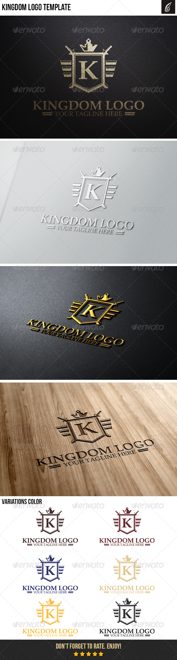 GraphicRiver Kingdom Logo 6366030
