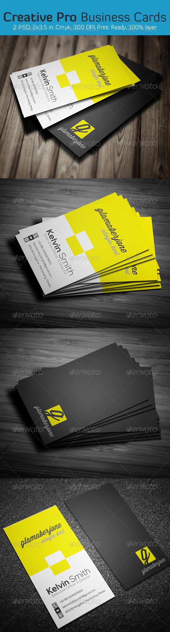 GraphicRiver Creative Pro Business Card 6366043