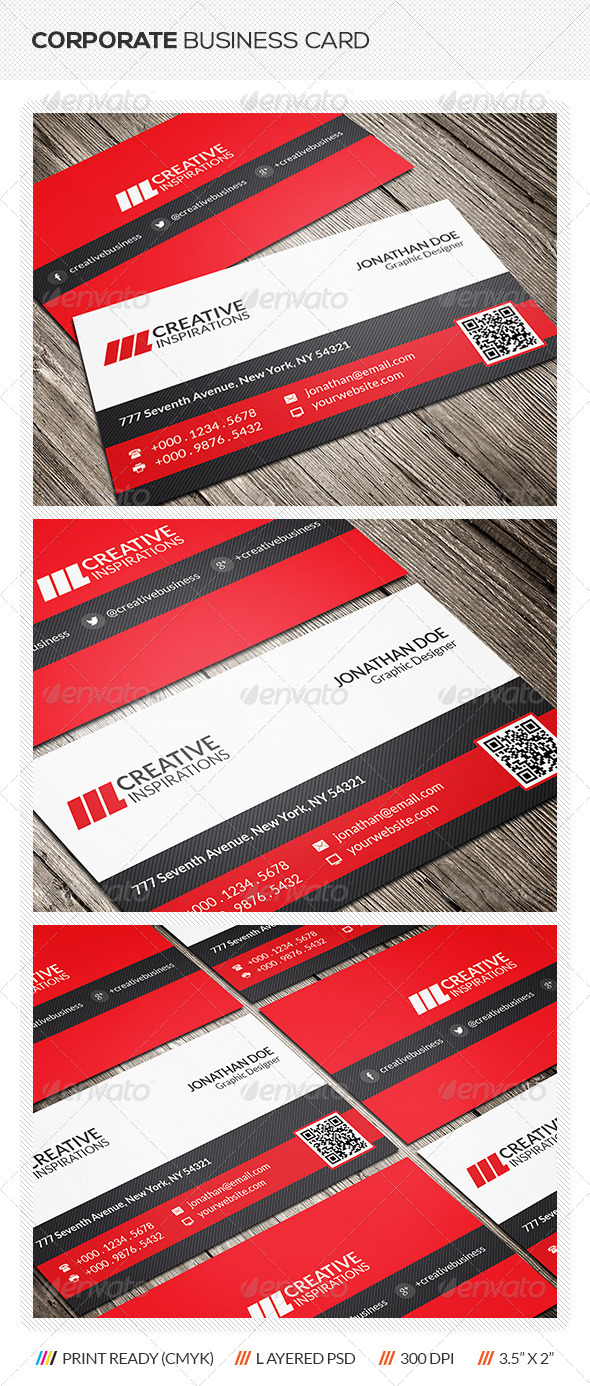GraphicRiver Corporate Business Card 6366196