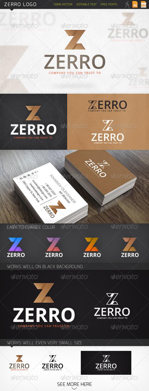 GraphicRiver Zerro Logo 6366719