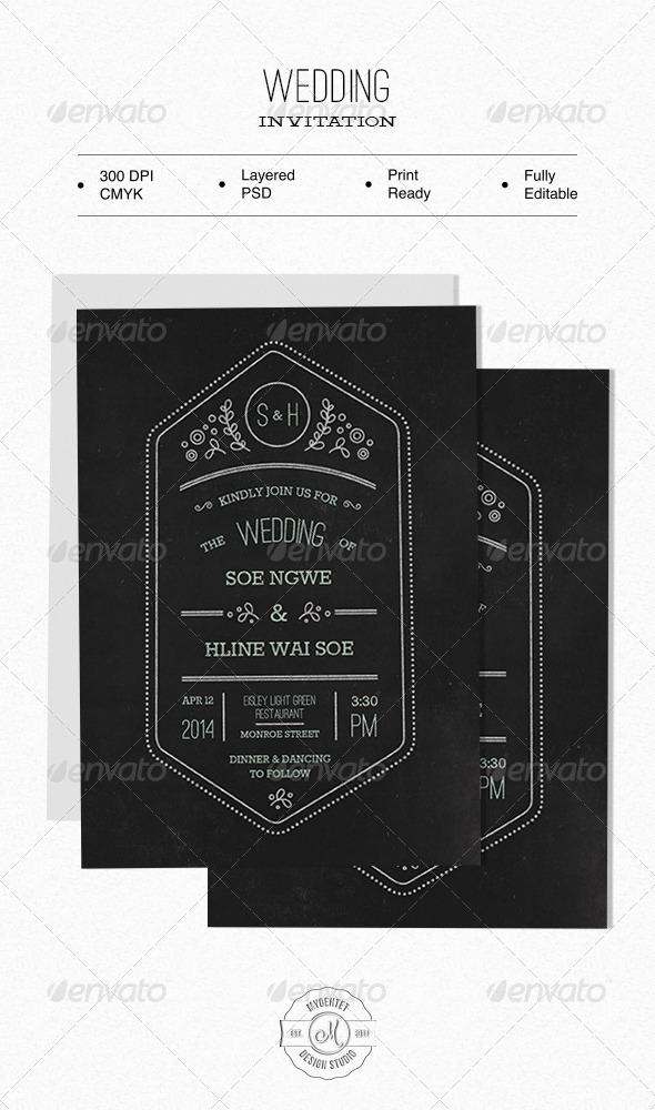 GraphicRiver Wedding Invitation 6366741
