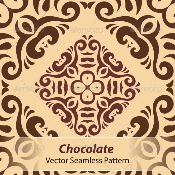 GraphicRiver Chocolate Vector Seamless Pattern 6366807