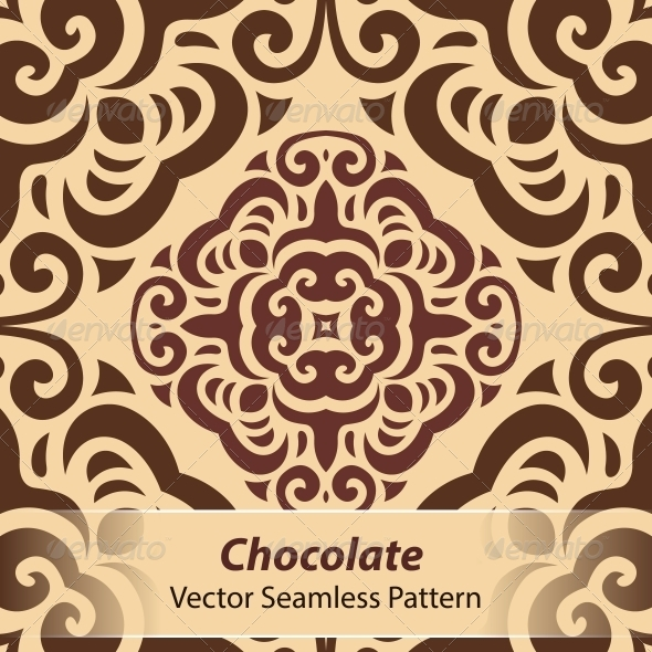 GraphicRiver Chocolate Vector Seamless Pattern 6366813