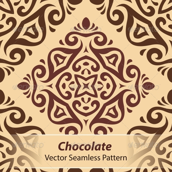 GraphicRiver Chocolate Vector Seamless Pattern 6366820