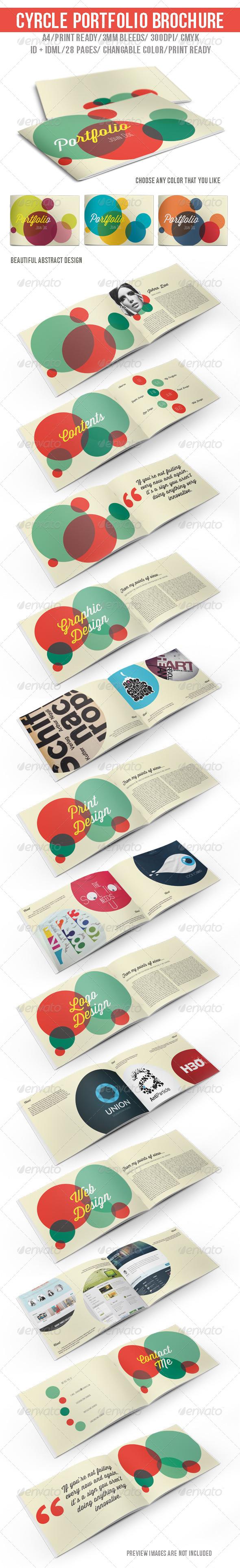 GraphicRiver Cyrcle Portfolio Brochure 6367285