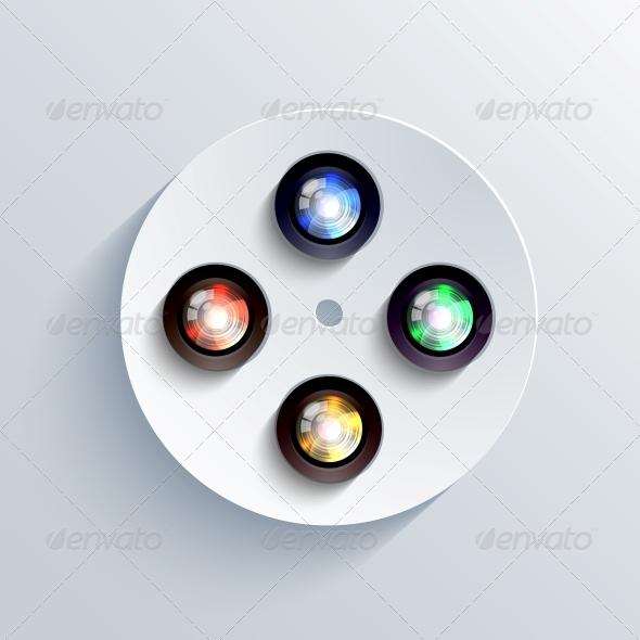 GraphicRiver Camera Icon Background 6367477