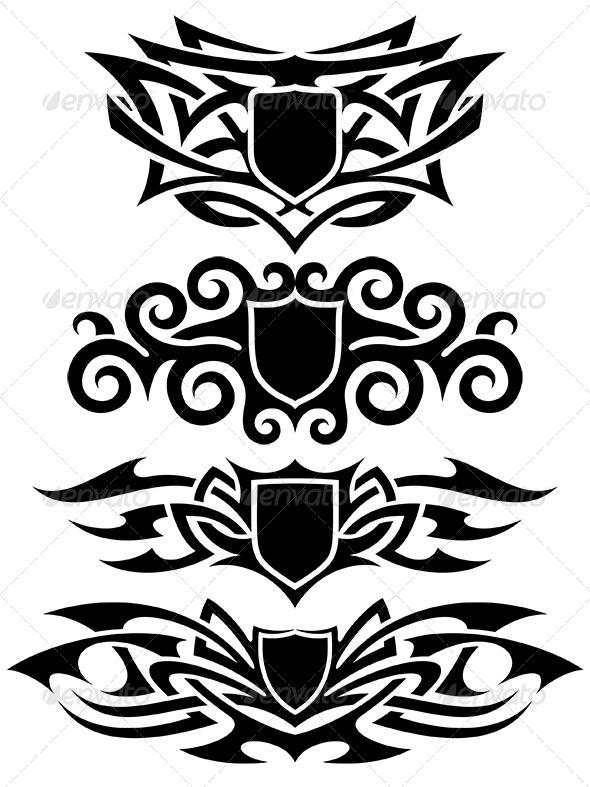 GraphicRiver Tattoo Set 6367479