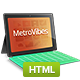 Metro Vibes - Showcase HTML Theme - ThemeForest Item for Sale