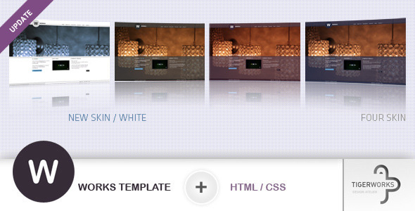 W WORKS Template - HTML/CSS