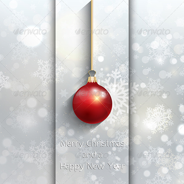 GraphicRiver Christmas Baubles Background 6368316