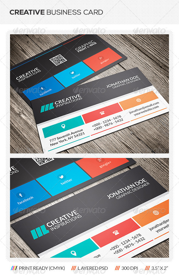 GraphicRiver Creative Business Card 6369015
