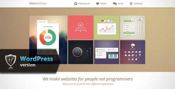 ThemeForest Metro Vibes Showcase WordPress Theme 6369148