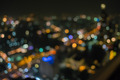 Beautiful colorful light of Bangkok city at nightlife. - PhotoDune Item for Sale