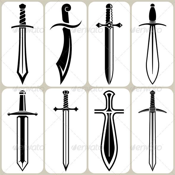GraphicRiver Sword Icons Set 6369492