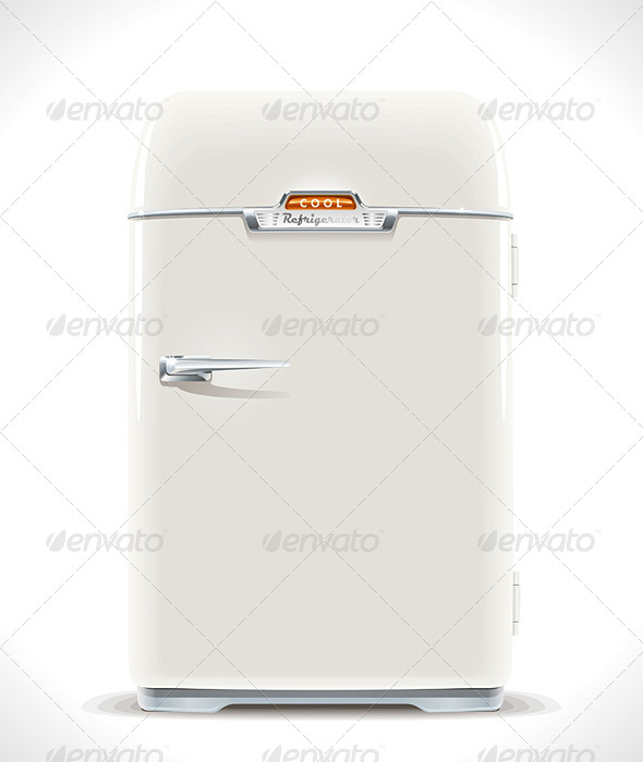 GraphicRiver Old Refrigerator 6369667