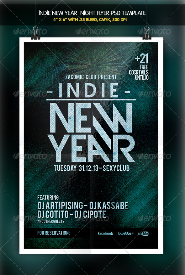 GraphicRiver Indie New Year 6333857