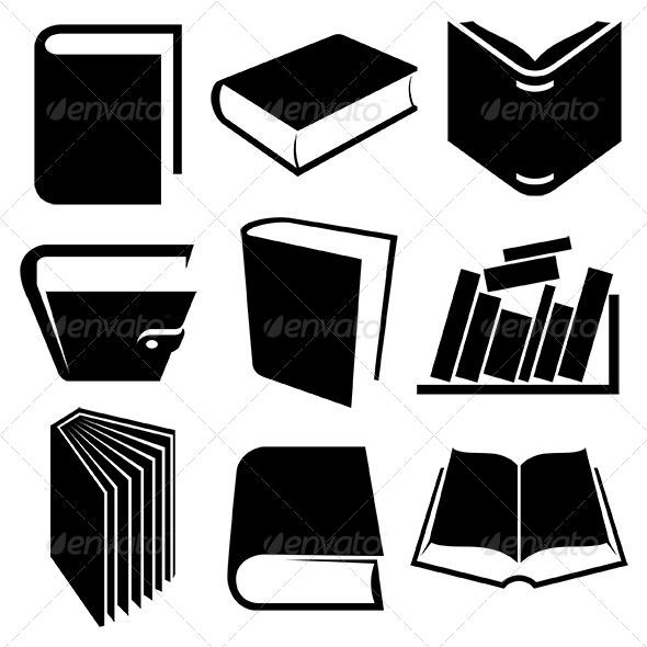 GraphicRiver Book Icons Set 6369821