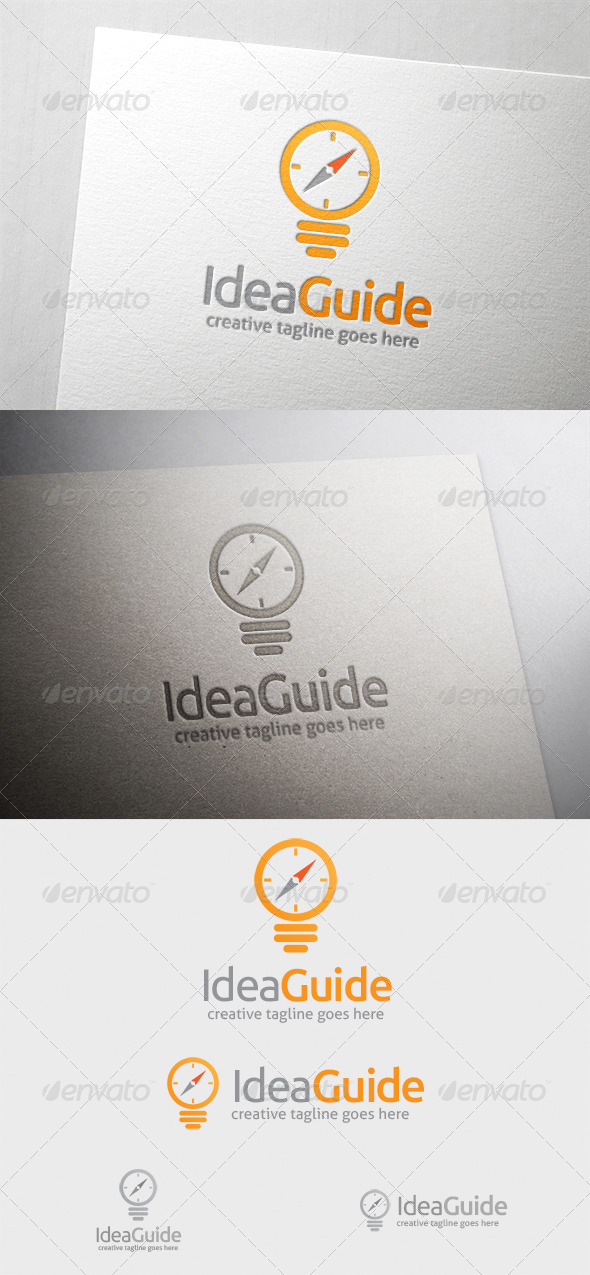 GraphicRiver Idea Guide Logo 6370197