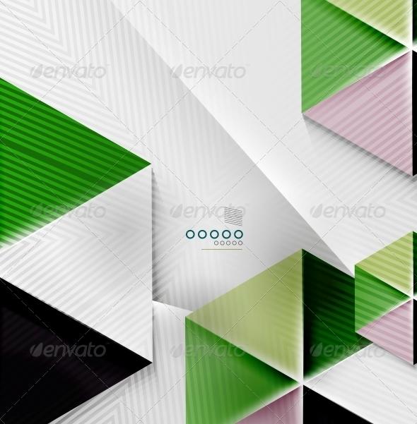 GraphicRiver Hexagon Business Paper Geometric Shape 6370610