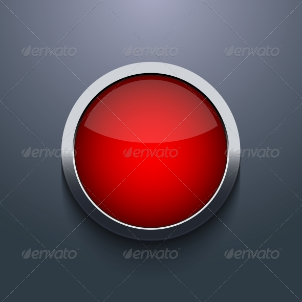 GraphicRiver Vector Web Button Design on Gray Background 6370693