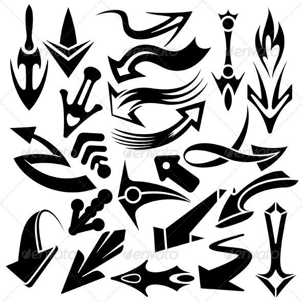 GraphicRiver Arowhead Pointers Set 6370744