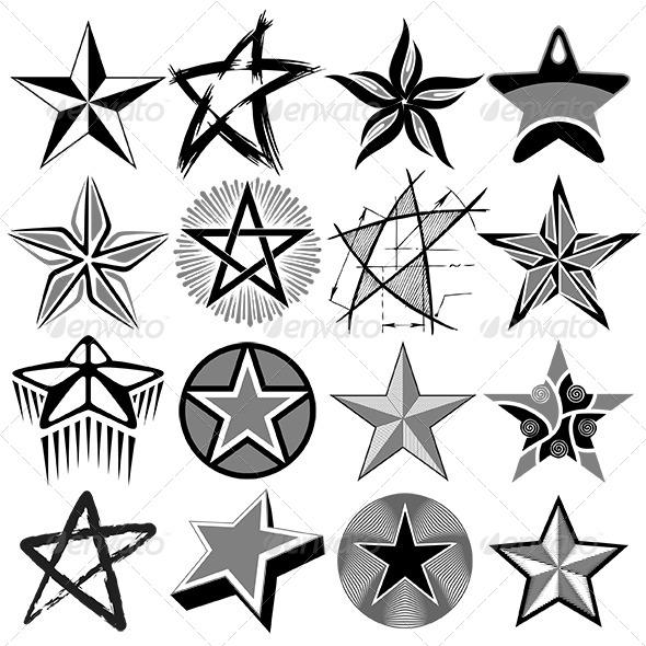 GraphicRiver Stars Vector Set 6370920