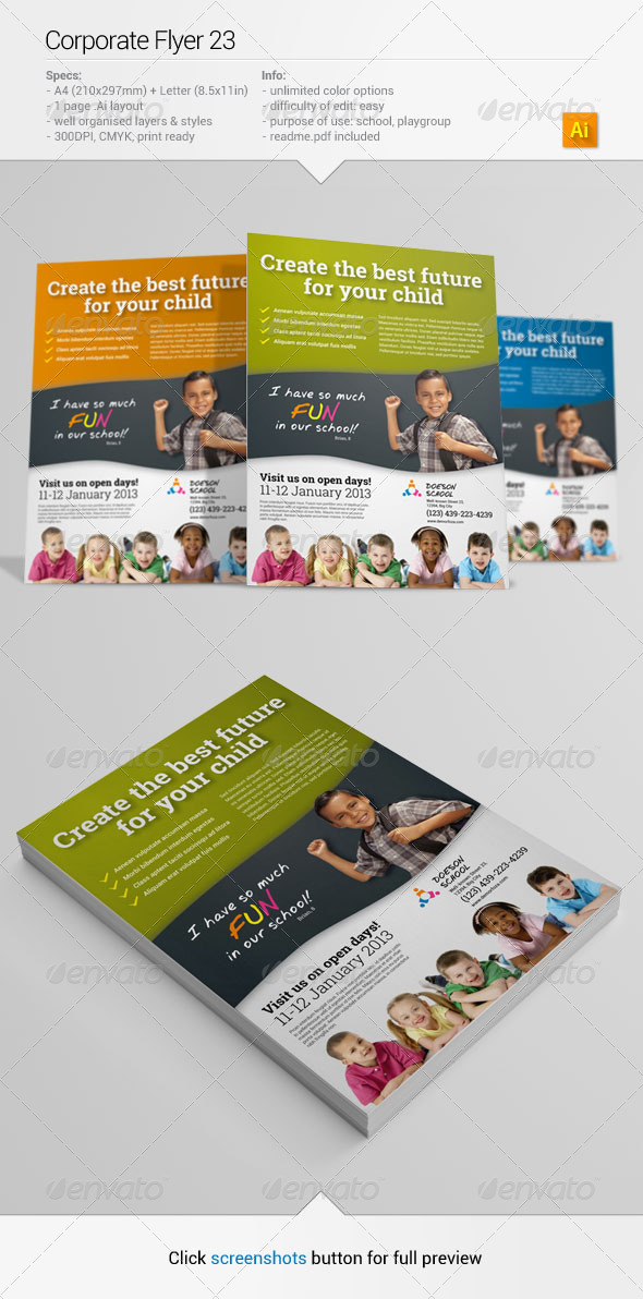 GraphicRiver Corporate Flyer 24 6371056