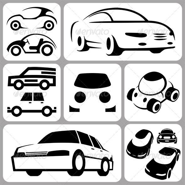 GraphicRiver Car Icons Set 6371870