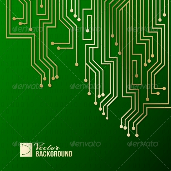 GraphicRiver Abstract Circuit Background 6371953