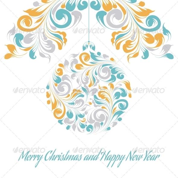 GraphicRiver Christmas Greeting Card 6372027