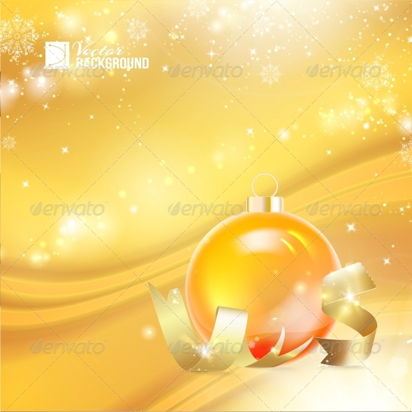 GraphicRiver Christmas Toy with Ribbon 6372078