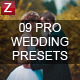 9 Pro Wedding Presets vol.3