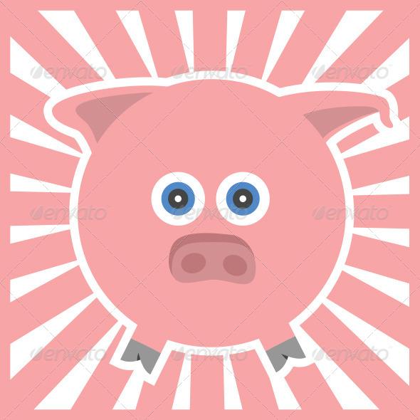 GraphicRiver Pig 6372174