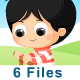 Children Playing (6 Files) - ActiveDen Item for Sale
