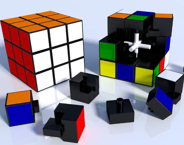 3DOcean Rubik Cube High Detail 6372718