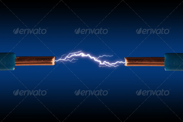 Electric cable - Stock Photo - Images