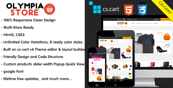 Olympia - Premium Responsive CS-Cart Theme - CS-Cart eCommerce