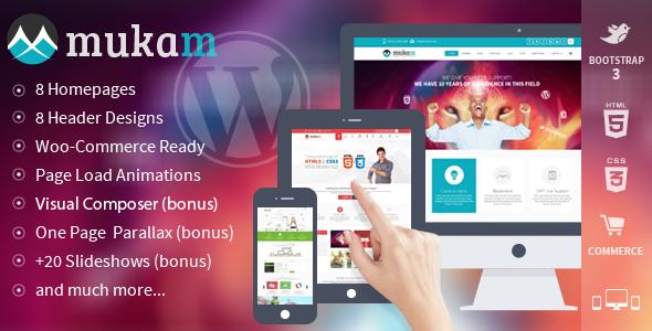 ThemeForest Mukam Limitless Multipurpose Wordpress Theme 6347310