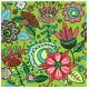 Seamless Pattern Magic Flowers - GraphicRiver Item for Sale