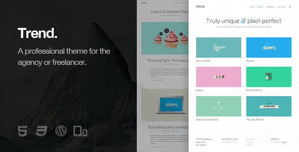 ThemeForest Trend Responsive WordPress Theme 6264242