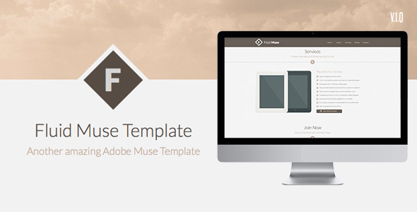 Fluid Muse - Corporate Muse Templates