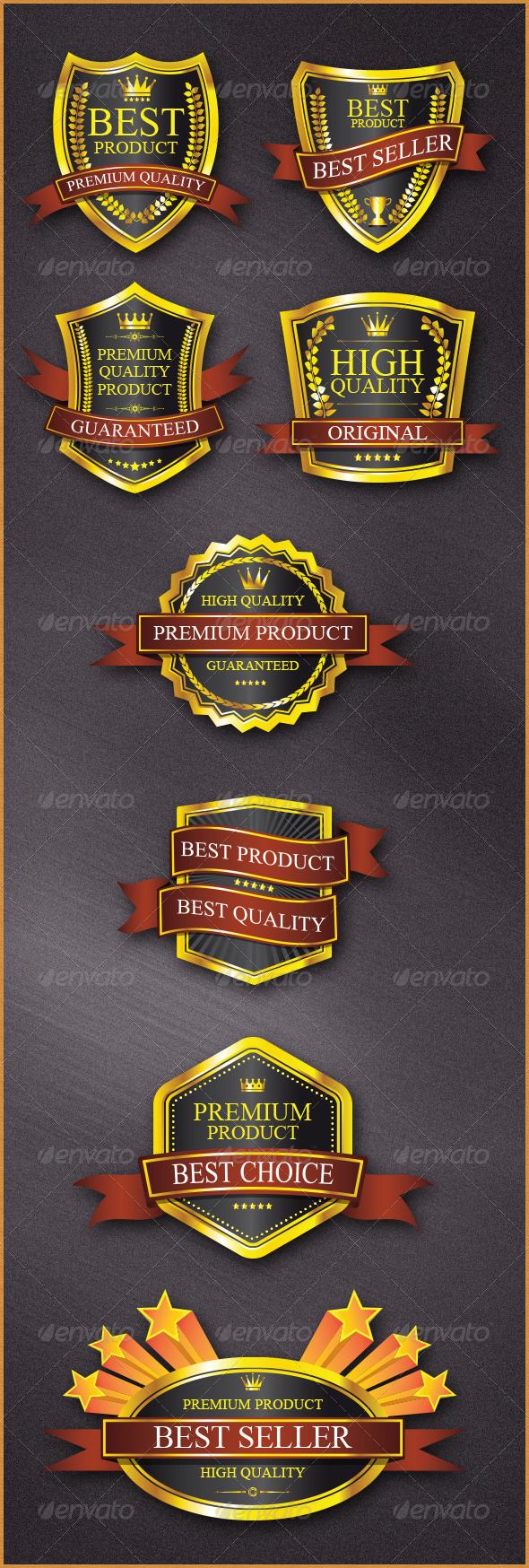 GraphicRiver Badges Design 6374415