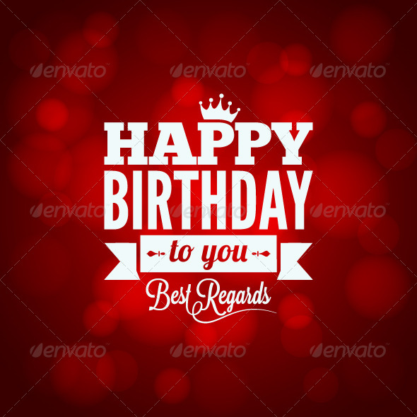 GraphicRiver Happy Birthday Sign Design Background 6368379