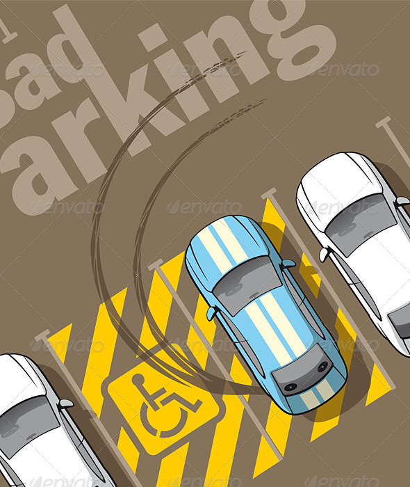 GraphicRiver Bad Parking 6374708