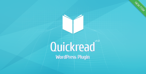 CodeCanyon Wordpress Quick Read Plugin 6372475