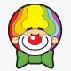 Clown Logo - GraphicRiver Item for Sale