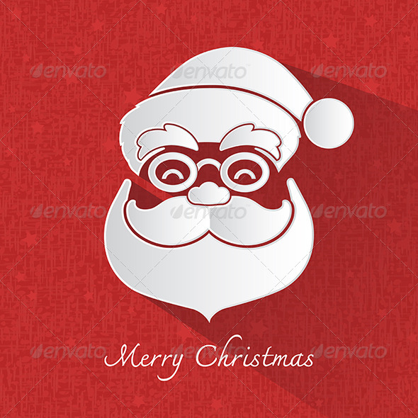 GraphicRiver Santa Claus Head Symbol 6375128