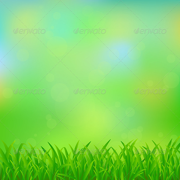 GraphicRiver Natural Green Background 6375152