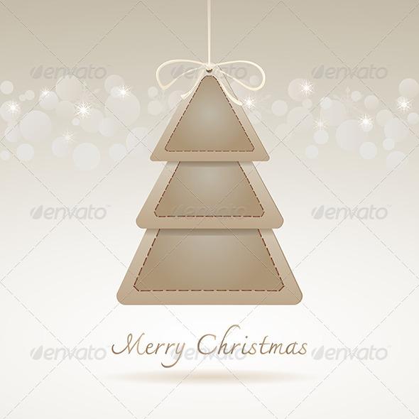 GraphicRiver Abstract Christmas Tree 6375292
